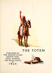 Page 7, 1924 Edition, South Side High School - Totem Yearbook (Fort Wayne, IN) online yearbook collection