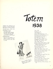 Page 9, 1938 Edition, South Side High School - Totem Yearbook (Fort Wayne, IN) online yearbook collection