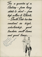 Page 8, 1947 Edition, South Side High School - Totem Yearbook (Fort Wayne, IN) online yearbook collection