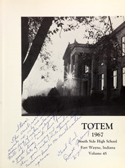 Page 5, 1967 Edition, South Side High School - Totem Yearbook (Fort Wayne, IN) online yearbook collection