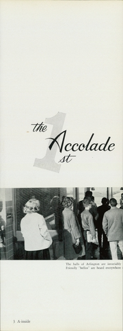 Page 13, 1962 Edition, Arlington High School - Accolade Yearbook (Indianapolis, IN) online yearbook collection