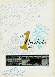 Page 7, 1962 Edition, Arlington High School - Accolade Yearbook (Indianapolis, IN) online yearbook collection
