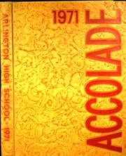 1971 Edition, Arlington High School - Accolade Yearbook (Indianapolis, IN)