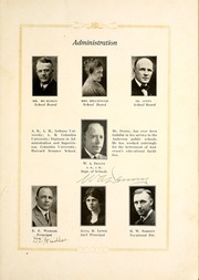 Page 15, 1924 Edition, Anderson High School - Indian Yearbook (Anderson, IN) online yearbook collection