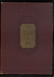 Page 1, 1927 Edition, Anderson High School - Indian Yearbook (Anderson, IN) online yearbook collection