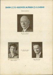 Page 13, 1928 Edition, Anderson High School - Indian Yearbook (Anderson, IN) online yearbook collection