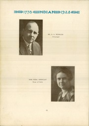 Page 14, 1928 Edition, Anderson High School - Indian Yearbook (Anderson, IN) online yearbook collection
