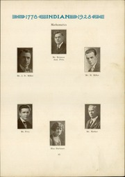 Page 15, 1928 Edition, Anderson High School - Indian Yearbook (Anderson, IN) online yearbook collection
