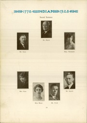 Page 16, 1928 Edition, Anderson High School - Indian Yearbook (Anderson, IN) online yearbook collection