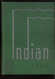 Page 1, 1940 Edition, Anderson High School - Indian Yearbook (Anderson, IN) online yearbook collection