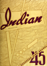 Page 1, 1945 Edition, Anderson High School - Indian Yearbook (Anderson, IN) online yearbook collection