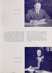 Page 15, 1945 Edition, Anderson High School - Indian Yearbook (Anderson, IN) online yearbook collection