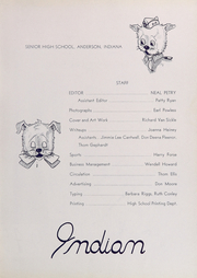 Page 7, 1945 Edition, Anderson High School - Indian Yearbook (Anderson, IN) online yearbook collection
