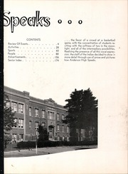 Page 7, 1953 Edition, Anderson High School - Indian Yearbook (Anderson, IN) online yearbook collection