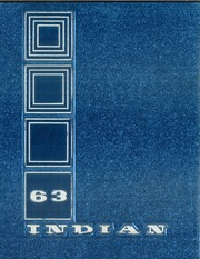1963 Edition, Anderson High School - Indian Yearbook (Anderson, IN)