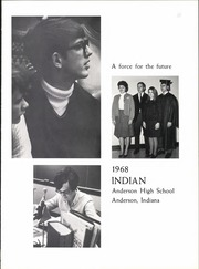 Page 7, 1968 Edition, Anderson High School - Indian Yearbook (Anderson, IN) online yearbook collection