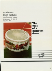Page 5, 1987 Edition, Anderson High School - Indian Yearbook (Anderson, IN) online yearbook collection
