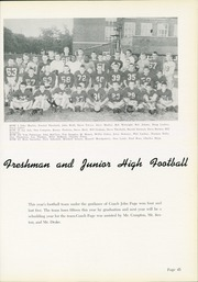 Page 49, 1957 Edition, Shelbyville High School - Squib Yearbook (Shelbyville, IN) online yearbook collection