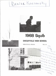 Page 5, 1968 Edition, Shelbyville High School - Squib Yearbook (Shelbyville, IN) online yearbook collection