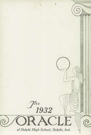 Page 7, 1932 Edition, Delphi High School - Oracle Yearbook (Delphi, IN) online yearbook collection