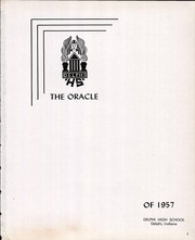 Page 3, 1957 Edition, Delphi High School - Oracle Yearbook (Delphi, IN) online yearbook collection