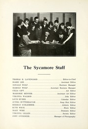 Page 12, 1924 Edition, Wabash High School - Sycamore Yearbook (Wabash, IN) online yearbook collection