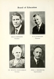 Page 8, 1924 Edition, Wabash High School - Sycamore Yearbook (Wabash, IN) online yearbook collection