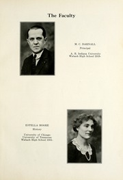 Page 9, 1924 Edition, Wabash High School - Sycamore Yearbook (Wabash, IN) online yearbook collection