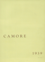 Page 7, 1939 Edition, Wabash High School - Sycamore Yearbook (Wabash, IN) online yearbook collection