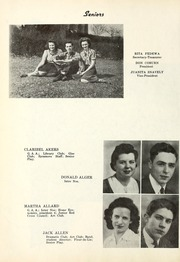 Page 14, 1941 Edition, Wabash High School - Sycamore Yearbook (Wabash, IN) online yearbook collection