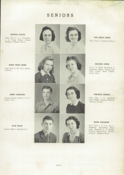 Page 11, 1941 Edition, Charlestown High School - Pirates Yearbook (Charlestown, IN) online yearbook collection