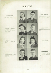 Page 12, 1941 Edition, Charlestown High School - Pirates Yearbook (Charlestown, IN) online yearbook collection