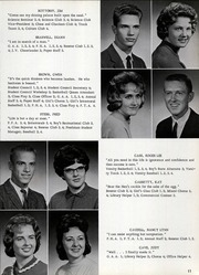 Page 15, 1963 Edition, Charlestown High School - Pirates Yearbook (Charlestown, IN) online yearbook collection