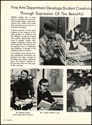 Page 46, 1971 Edition, Andrean High School - Decussata Yearbook (Merrillville, IN) online yearbook collection