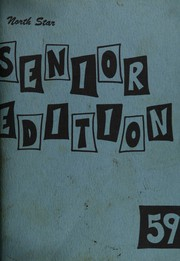 1959 Edition, North High School - North Star Senior Edition Yearbook (Evansville, IN)