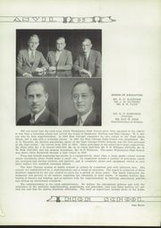 Page 15, 1935 Edition, Washington High School - Anvil Yearbook (East Chicago, IN) online yearbook collection