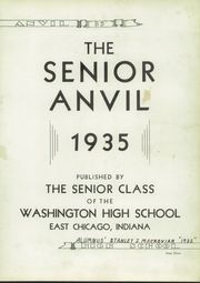 Page 7, 1935 Edition, Washington High School - Anvil Yearbook (East Chicago, IN) online yearbook collection