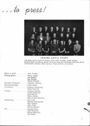 Page 11, 1939 Edition, Washington High School - Anvil Yearbook (East Chicago, IN) online yearbook collection