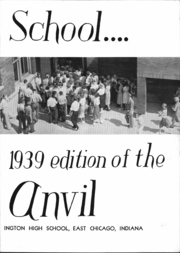 Page 5, 1939 Edition, Washington High School - Anvil Yearbook (East Chicago, IN) online yearbook collection