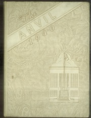 Page 1, 1940 Edition, Washington High School - Anvil Yearbook (East Chicago, IN) online yearbook collection