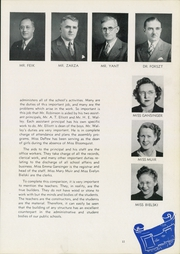 Page 15, 1940 Edition, Washington High School - Anvil Yearbook (East Chicago, IN) online yearbook collection