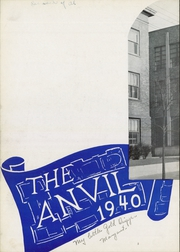 Page 6, 1940 Edition, Washington High School - Anvil Yearbook (East Chicago, IN) online yearbook collection