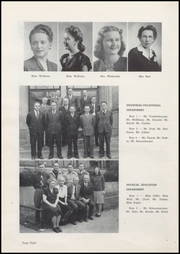 Page 12, 1947 Edition, Washington High School - Anvil Yearbook (East Chicago, IN) online yearbook collection