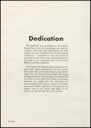 Page 8, 1947 Edition, Washington High School - Anvil Yearbook (East Chicago, IN) online yearbook collection
