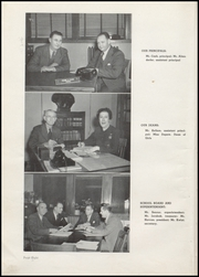 Page 12, 1948 Edition, Washington High School - Anvil Yearbook (East Chicago, IN) online yearbook collection