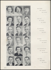 Page 12, 1951 Edition, Washington High School - Anvil Yearbook (East Chicago, IN) online yearbook collection