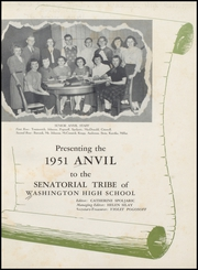 Page 5, 1951 Edition, Washington High School - Anvil Yearbook (East Chicago, IN) online yearbook collection