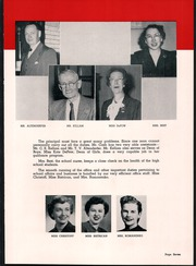 Page 11, 1952 Edition, Washington High School - Anvil Yearbook (East Chicago, IN) online yearbook collection