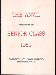 Page 5, 1952 Edition, Washington High School - Anvil Yearbook (East Chicago, IN) online yearbook collection