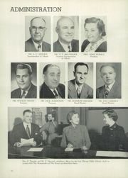 Page 14, 1953 Edition, Washington High School - Anvil Yearbook (East Chicago, IN) online yearbook collection